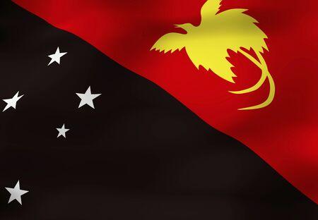 Nuova Guinea: Papua Nuova Guinea bandiera