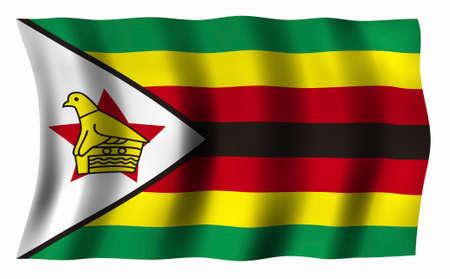 zimbabwe: Flag of Zimbabwe