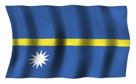 nauru: Flag of Nauru