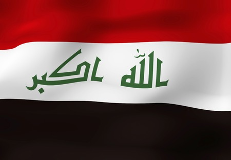 foreign national: Flag of Iraq