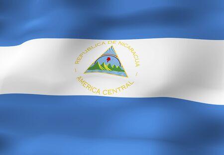 el salvador: Flag of El Salvador Stock Photo