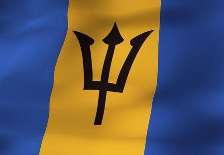 barbados: Barbados flag