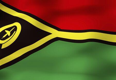 vanuatu: Flag of Vanuatu