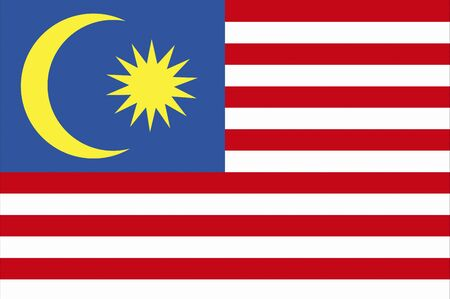 flag background: Malaysia flag