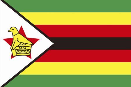 zimbabwe: Bandera de Zimbabwe