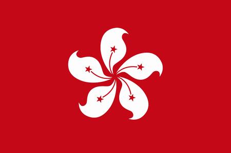 hong kong: Hong Kong flag