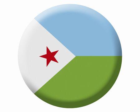 djibouti: Djibouti Flag Stock Photo