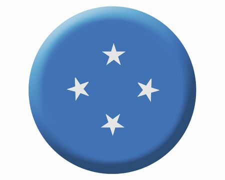 micronesia: Micronesia flag Stock Photo