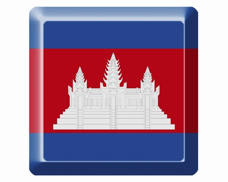 cambodia: Cambodia Flag Stock Photo