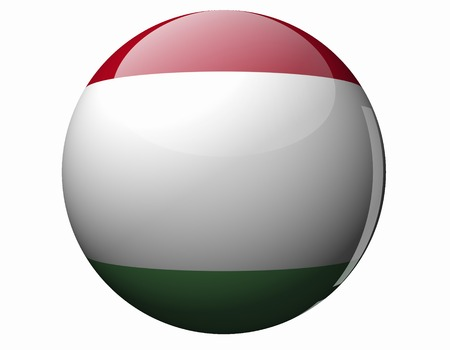 foreign national: Flag of Hungary Stock Photo