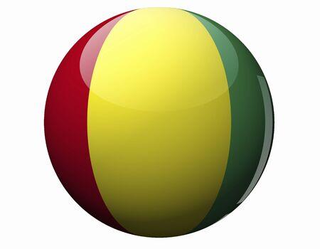guinea: Guinea Flag Stock Photo