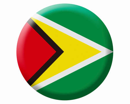 Guyana: Guyana Flag Stock Photo