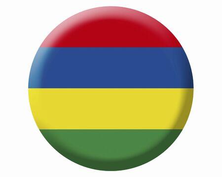 mauritius: Flag of Mauritius Stock Photo