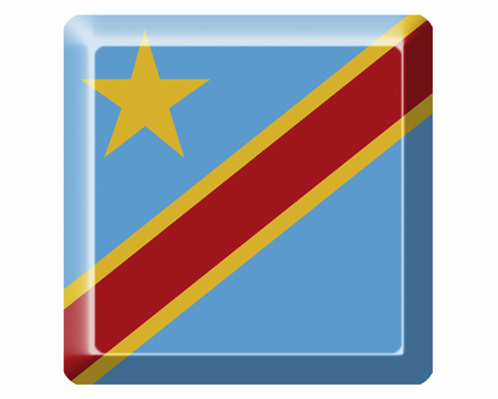 democratic: Flags of the Democratic Republic of the Congo Stock Photo
