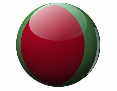 national flag bangladesh: Flag of Bangladesh Stock Photo