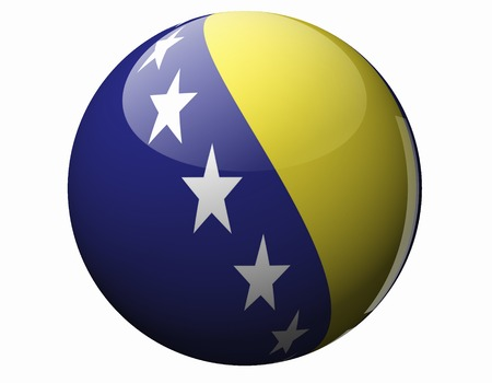 herzegovina: Bosnia Herzegovina Flag