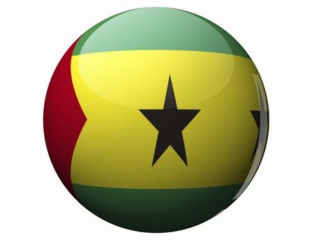 tome: Sao Tome and Principe flag