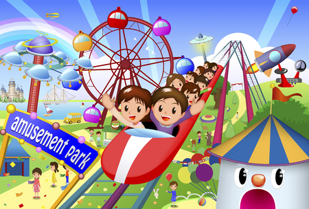 park: Amusement park