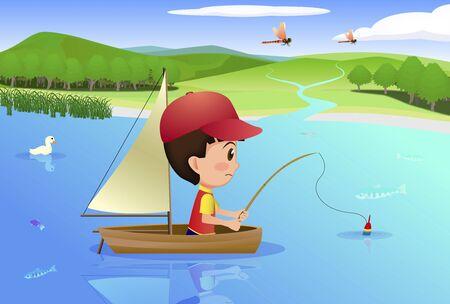 suburbs: Fishing