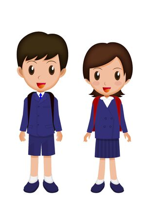 satchel: Elementary school student