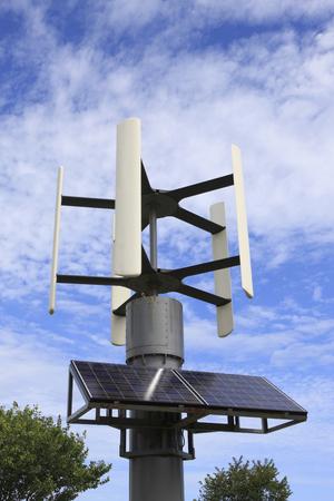 windpower: Wind solar hybrid power generation