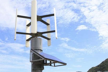바람 태양 광 하이브리드 발전