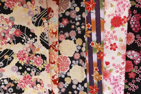 kimono: Kimono patterns Stock Photo