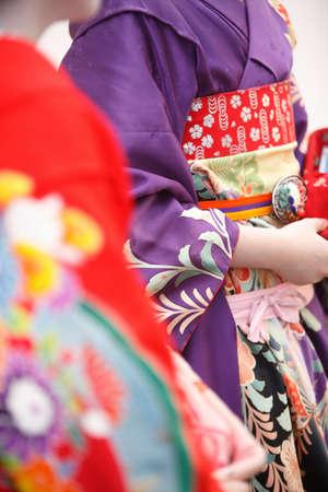 geisha kimono: Geisha dressed in kimono