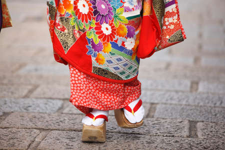 traditional culture: Geisha costume