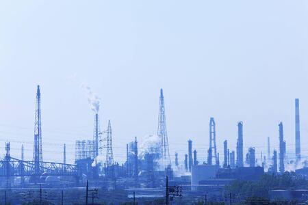 水島工業地帯 写真素材