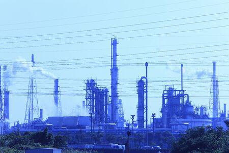 sanyo: Mizushima industrial zone Stock Photo
