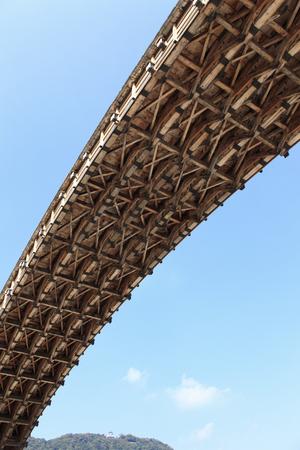 sanyo: Kintai bridge Stock Photo