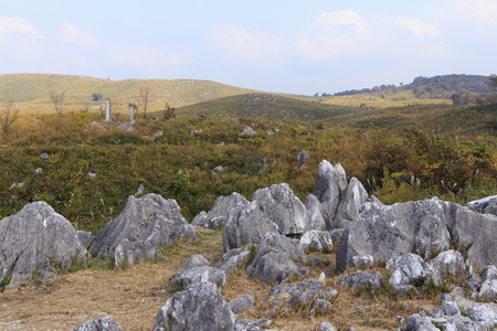 diluted: Akiyoshi plateau in autumn