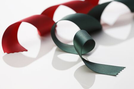 Red and Green Ribbon photo