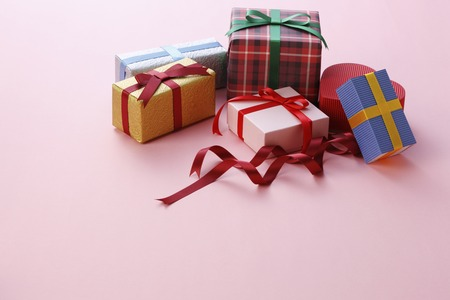 plenty: Plenty of gift box Stock Photo
