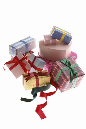 Plenty of gift box Stock Photo