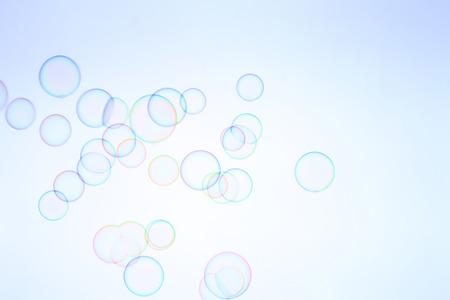 soap bubbles: SOAP bubbles Stock Photo