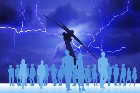 windpower: Thunder and crowd