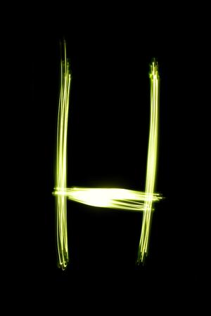 手書きペンの光