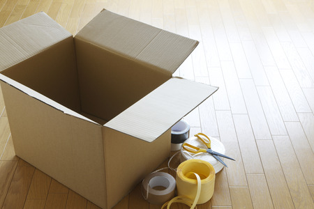 Packing of moving 스톡 콘텐츠
