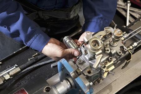 Auto-onderdelen montage