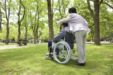 welfare plant: Wheelchairs and couples