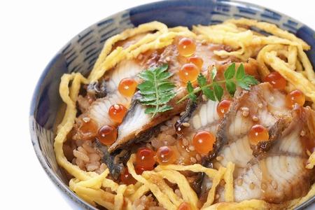 dog salmon: Eel cuisine