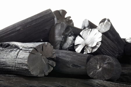 Carbón Bincho Foto de archivo - 49746882