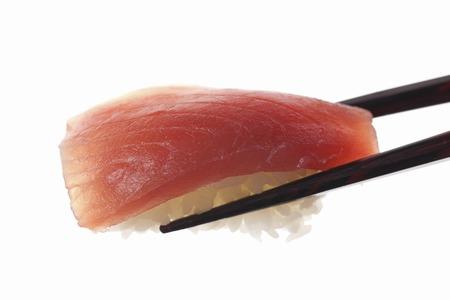 nigiri: Tuna nigiri sushi