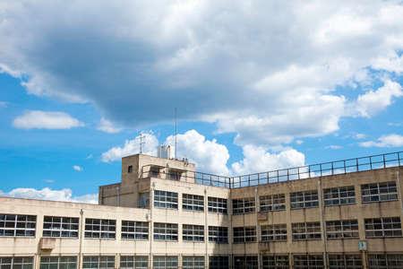Schoolgebouw van school