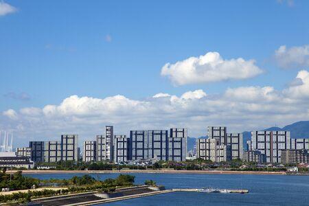 nishinomiya: Urban landscape of Hyogo Prefecture Ashiya beach
