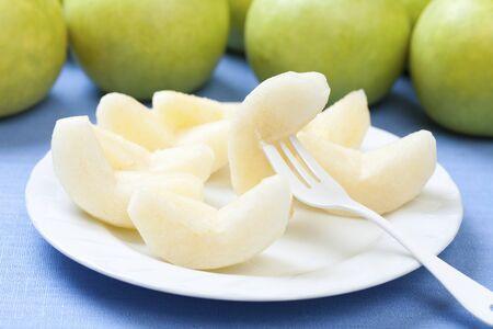 twentieth: twentieth century pears Stock Photo
