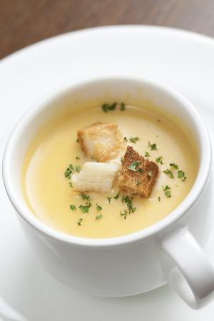 potage: Corn potage soup