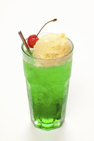 carbonated drink: Cream soda Stock Photo
